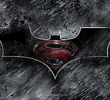 Batman Superman - Dark Knight of Steel  by EdUnderground