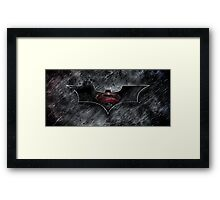 Batman Superman - Dark Knight of Steel  Framed Print