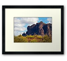 The Lost Dutchman's Gold Framed Print