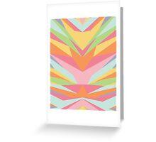Geometric Pastel Rainbow Greeting Card
