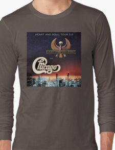 Chicago Earth Wind Fire Tour 2016 RP03 Long Sleeve T-Shirt