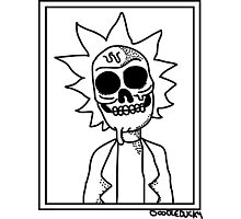 Rick and Morty - Zombie Rick Photographic Print