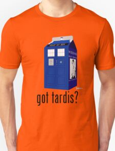 Got Tardis? or Missing Matt Smith T-Shirt