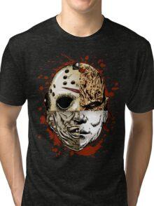 HORROR MASHUP Tri-blend T-Shirt