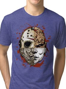 HORROR MASHUP Tri-blend T-Shirt