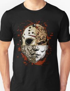 Retro Horror Mash-Up T-shirt for Adults