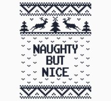 Naughty But Nice Ugly Christmas Sweater by xdurango