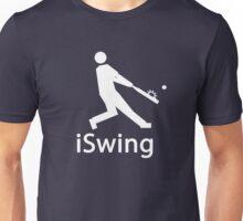 iSWING white Unisex T-Shirt