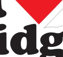 I Heart Love Midget Porn Sticker
