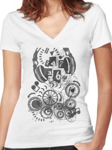 24/7/365 Women's Fitted V-Neck T-Shirt