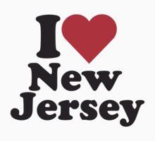 I Heart Love New Jersey by HeartsLove