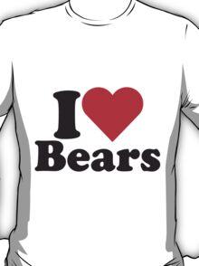 I Heart Love Bears T-Shirt
