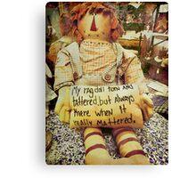 rag doll Canvas Print