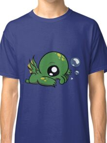 Baby Cthulhu Likes Bubbles Classic T-Shirt