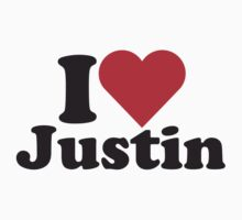 I Heart Love Justin by HeartsLove