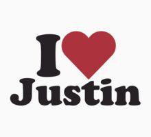 I Heart Love Justin by HeartsLove