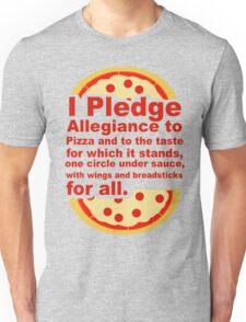 Pledge Allegiance to the Pizza Unisex T-Shirt