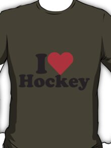 I Heart Love Hockey T-Shirt