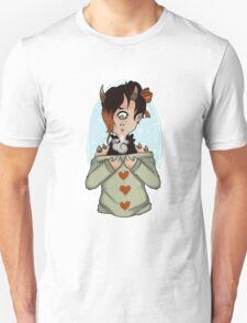Monster Girl Sticker Unisex T-Shirt