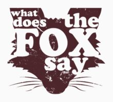 What Does the Fox Say? by irig0ld