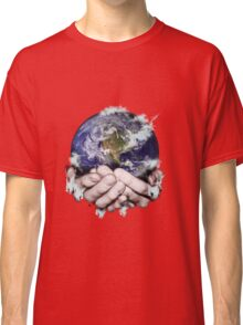 The World Freezing in my Hands Classic T-Shirt