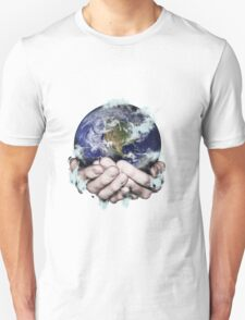 The World Freezing in my Hands T-Shirt