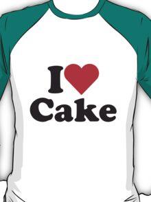 I Heart Love Cake T-Shirt