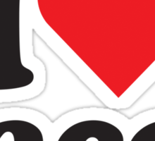 I Heart Love Tacos Sticker