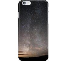 Milky Way North Yorkshire  iPhone Case/Skin