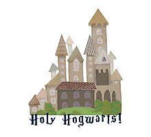 Holy H... Hogwarts! Photographic Print