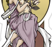 Prim Art Nouveau Sticker