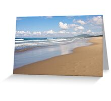 Seven Miles of Sand Greeting Card