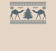Tribal Camel Christmas Hump Day Sweater Womens Fitted T-Shirt