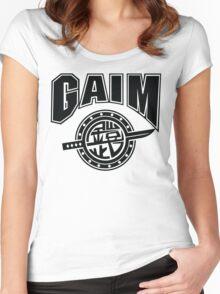 Gaim Crew (black) Women's Fitted Scoop T-Shirt