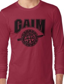 Gaim Crew (black) Long Sleeve T-Shirt