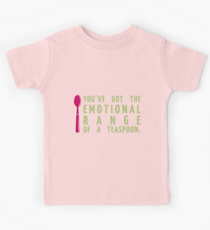 Their Emotional Range is Small. Kids Tee