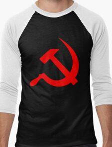 Hammer And Sickle Men's Baseball ¾ T-Shirt