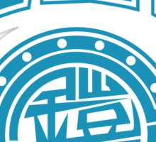 Gaim Crew (light blue) Sticker