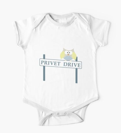 Number 4 Privet Drive One Piece - Short Sleeve