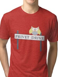 Number 4 Privet Drive Tri-blend T-Shirt