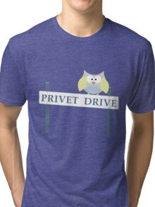 Number 4 Privet Drive Tri-blend T-Shirt
