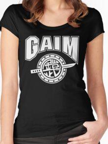 Gaim Crew (white) Women's Fitted Scoop T-Shirt