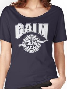 Gaim Crew (white) Women's Relaxed Fit T-Shirt