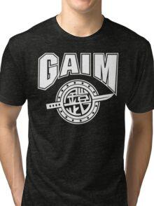 Gaim Crew (white) Tri-blend T-Shirt