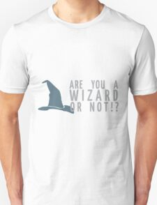 Oh-- yes. Yes, I am. T-Shirt