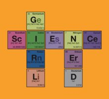 GIRL SCIENCE NERD - Periodic Elements Scramble! by dennis william gaylor