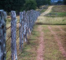 Country fence by texjamesphotogr