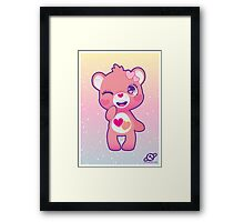 Love-a-lot bear Framed Print