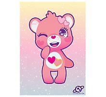 Love-a-lot bear Photographic Print