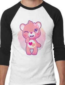Love-a-lot bear Men's Baseball ¾ T-Shirt